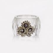 Кольцо для салфетки 2 шт. «Цветы»