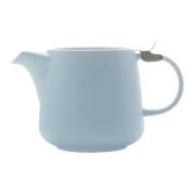Чайник с ситечком Оттенки (голубой) в индивидуальной упаковке