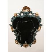 Зеркало «Принцесса» синий 82х64 см.