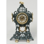 Часы-половинки цвет - синий 35х22см