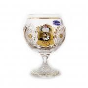 Набор бокалов 250мл.6шт «Хрусталь с золотом»