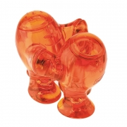 Набор из солонки и перечницы «Степ» (STEP) Koziol 6,7 x 11,5 x 8мм (оранжевый)