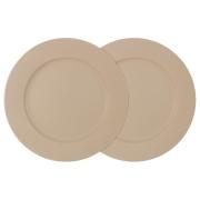 Набор из 2-х обеденных тарелок Птичье молоко