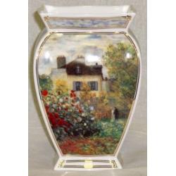 Ваза «Дом художника» 17 см. Серия: Monet