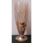 F/728/99 ваза «Серебряные нити» 42см (день и ночь)
