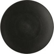 Тарелка мелкая «Экинокс» D=31, H=3.5см; черный