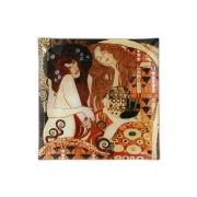 Тарелка квадратная Подружки (Г. Климт)