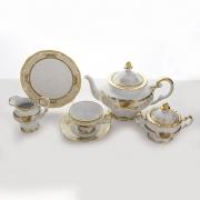 Сервиз чайный на 6перс.21пред.подарочный «Симфония Золотая»
