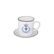 Чашка с блюдцем Королевский
