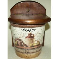 Настенная банка для соли «Кухня» 0,75 л
