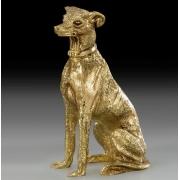Собака пойнтер золото 12х6 см