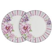 Набор из 2-х обеденных тарелок Цветочная феерия