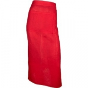 Фартук с карманом L=86, B=88см; красный