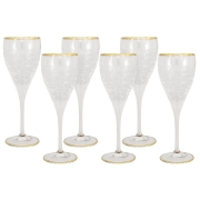 Набор: 6 хрустальных бокалов для вина Венето