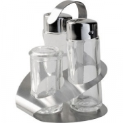 Набор соль/перец + ст.для зуб.,металл