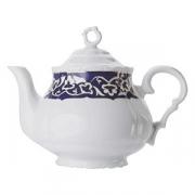 Чайник «Восток Голд», фарфор, 750мл, синий,золотой