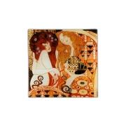 Тарелка квадратная Подружки ( Г. Климт)
