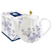 Чайник Голубые пионы