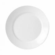Салатник «Симплисити Вайт», фарфор, D=30см, белый