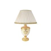 Настольная лампа (+ абажур) Topazio Cream Gold