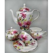 Сервиз чайный 6 перс 15 пр Любимый сад