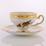 Набор чайный 210мл. на 6перс.12пред «Мейсенский букет»