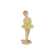 Статуэтка Балерина (в желтом платье)