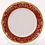 Набор тарелок 19 см. 6 шт «Ювел красный»