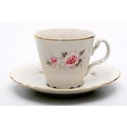 Набор для чая на 6 перс. 12 пред. выс «Роза серая 5396011»
