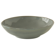 Тарелка суповая (серый) Interiors без индивидуальной упаковки