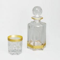 Набор для виски «Aramis»; 1 штоф (800мл) + 6 стаканов (270 мл)