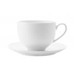 Чашка с блюдцем Даймонд
