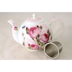 Чайник с ситечком «Розы» 1,1 л