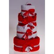 Набор полотенец «Торт» 4штуки
