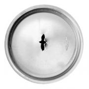 Насадка кондит. «Лист папоротника», сталь нерж., D=22,H=40мм, металлич.