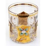 Набор стаканов «Хрусталь с золотом» 330 мл.