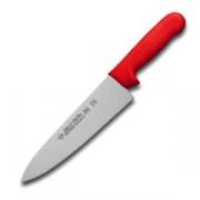 Нож поварской красн.ручка