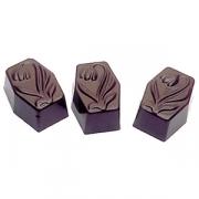 Форма для шоколада «Тюльпан» [36шт], L=30,B=22мм