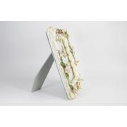Рамка-зеркало «Цветы» 35x29x5 см