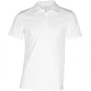 Рубашка поло мужская, размер 48 хлопок; белый