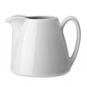 Молочник «Лиф»; фарфор; 285мл; белый