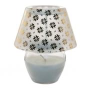 Свеча ароматическая в декоративном подсвечнике Лампа, 14 см, Fresh vanilla