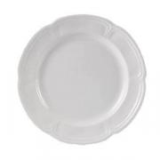 Тарелка «Торино вайт», фарфор, D=20см, белый