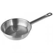 Сковорода, сталь нерж., D=200,H=55мм