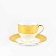 Набор 6 чайных пар 240мл «Золотой бамбук»