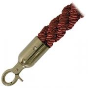 Канат для стойки ограждения; L=150см; красный