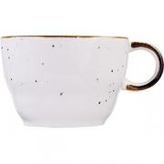 Чашка чайная «Пастораль» фарфор; оранжев.