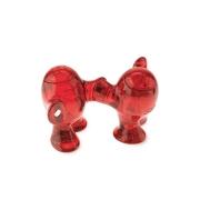 Набор из солонки и перечницы «Степ» (STEP) Koziol 6,7 x 11,5 x 8см (красный/прозрачный)