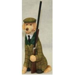 Статуэтка «Пес с ружьем»