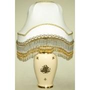 Маленькая овальная настольная лампа